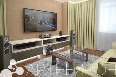 Дизайн квартиры студийного типа