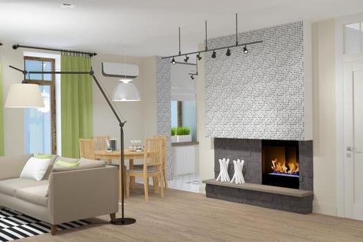 Интерьер квартиры в стиле IKEA