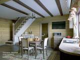Брусовой гостевой дом-баня