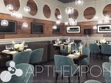 Дизайн интерьера и мебели семейного ресторана в Барнауле