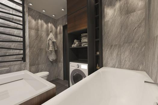 Дизайн-проект 2 к. квартиры в ЖК 'Мариинский'
