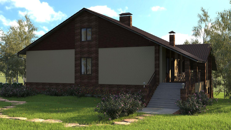 Частный дом в с. Топольки