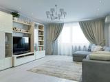 Квартира в современном стиле с элементами классики