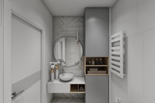 Дизайн проект в скандинавском стиле для молодой семьи.