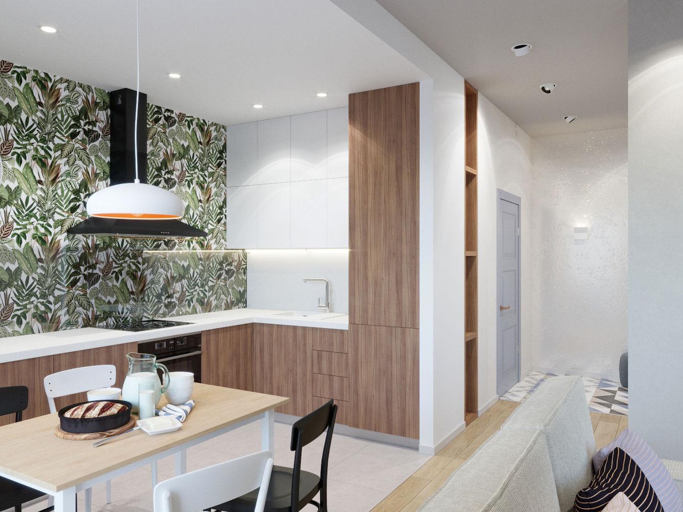Проект квартиры 46м2