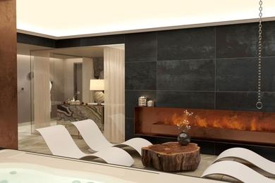 Спа-зона в гостинице
