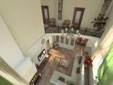 Классическая гостиная со вторым светом в жилом доме по Дачному шоссе.