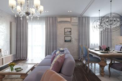 Современная классика в интерьере 3-х комнатной квартиры