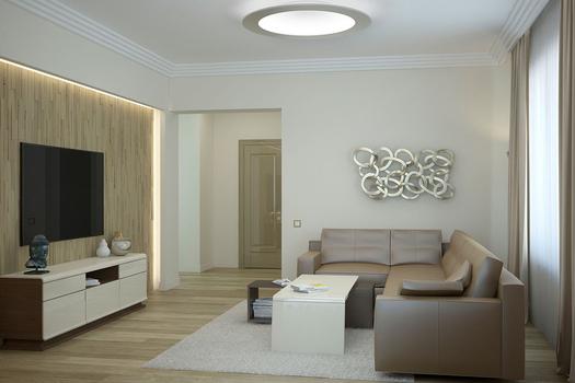 Современный интерьер в городском доме
