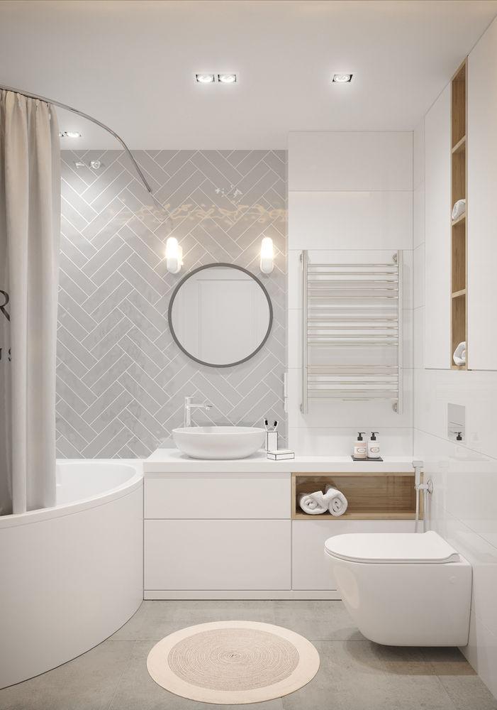 совместный туалет с ванной дизайн фото