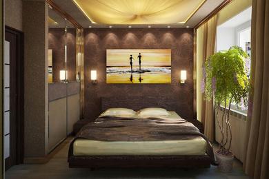 Шоколадная спальня