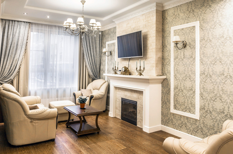 Интерьер 3х комнатной квартиры в классическом стиле