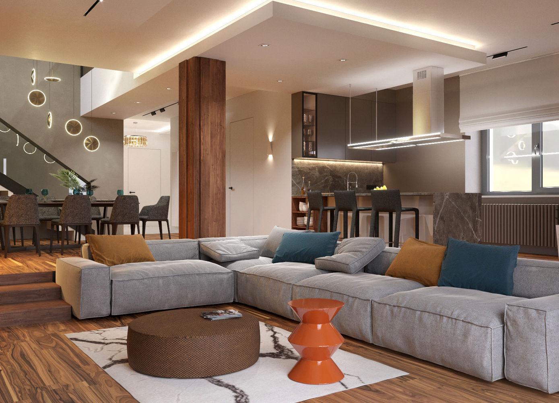 Проект просторного дома для молодой семьи в г.Братск