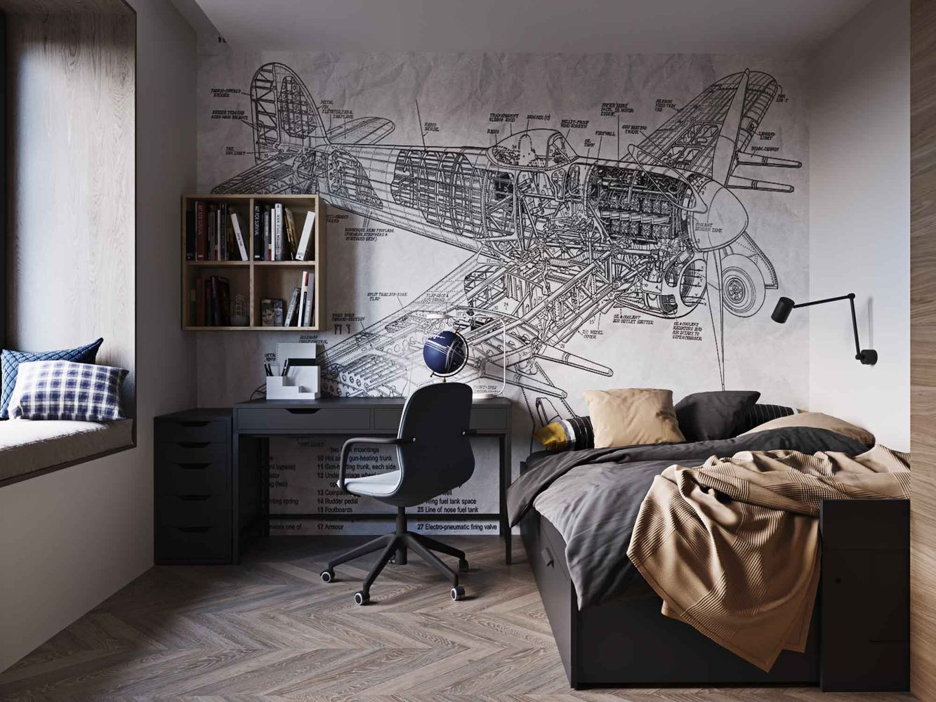 Дизайн интерьера квартиры 100 м2
