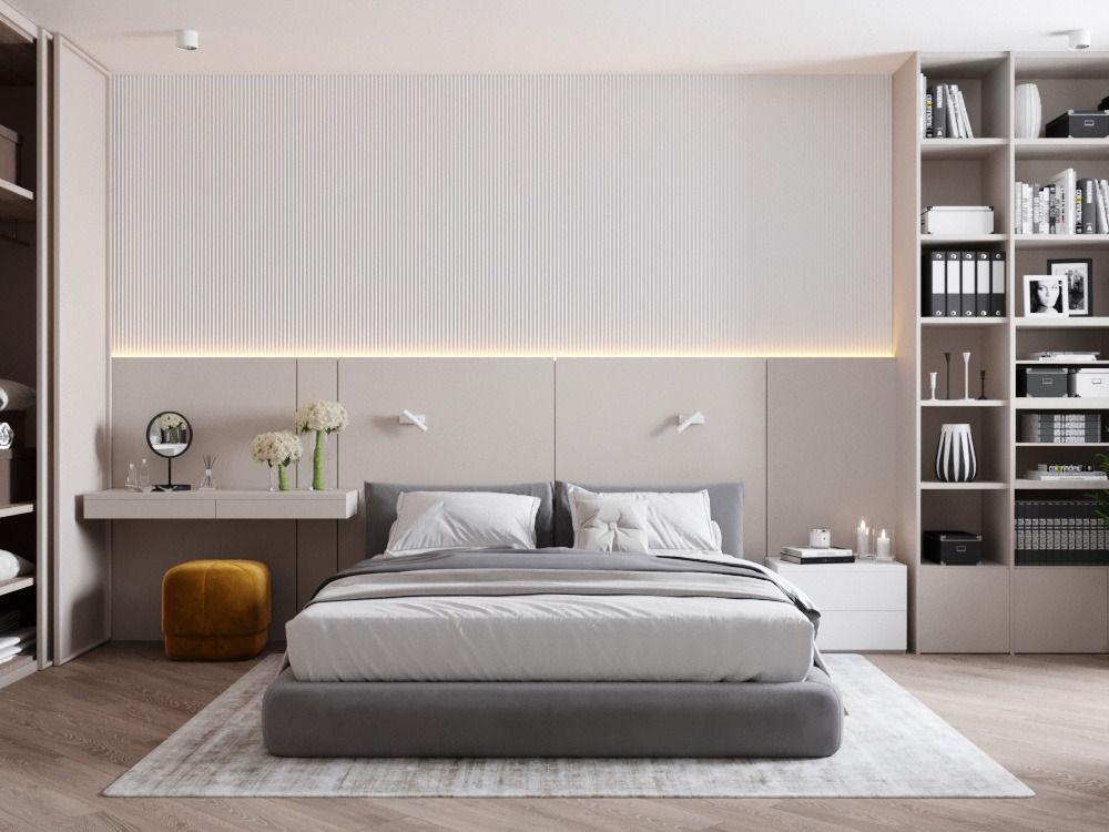 Дизайн интерьера квартиры 63 м2..