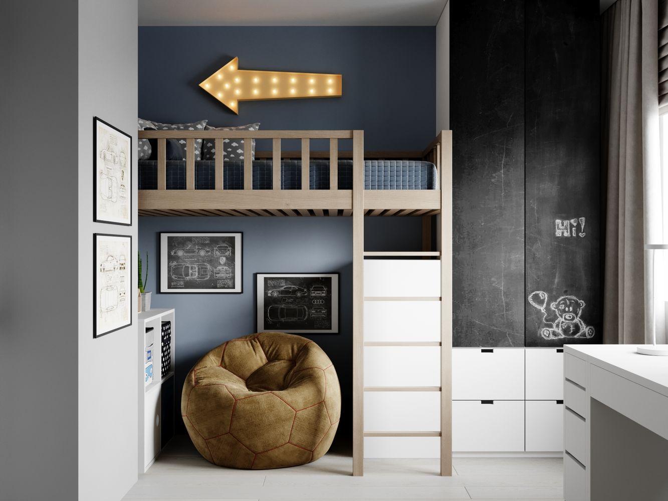 Дизайн интерьера 4-х квартиры г.Москва