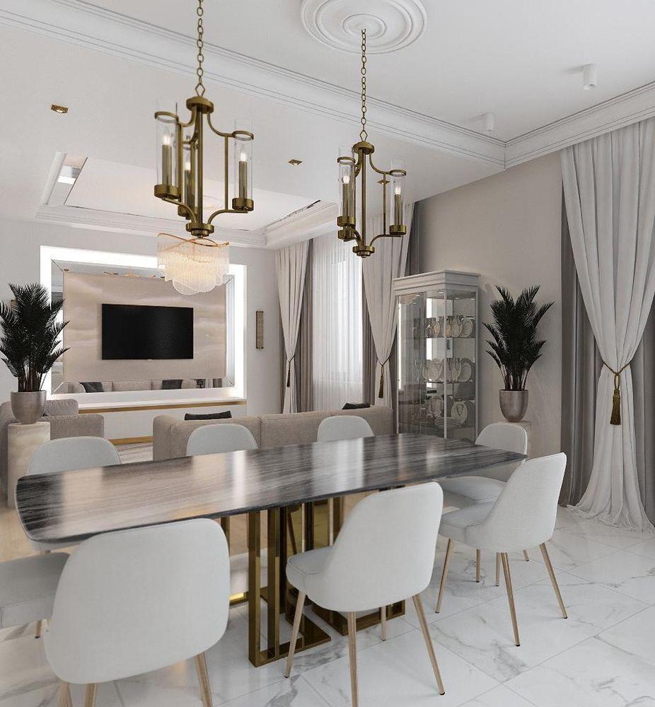 Дизайн-проект дома в Крыму в стиле современной классики