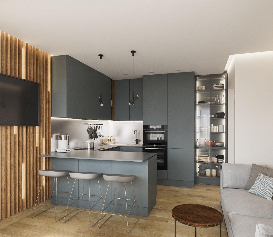 Квартира в современном дизайне