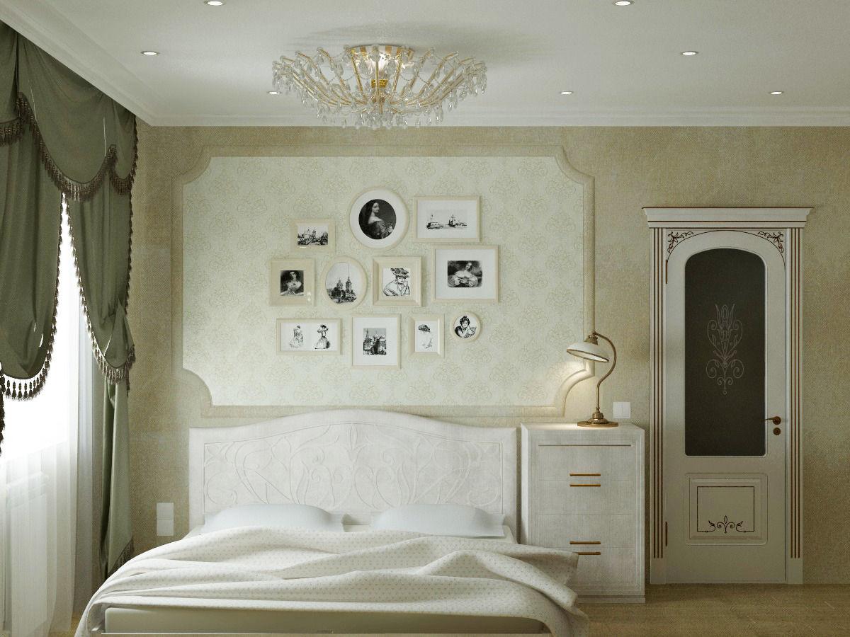 Комната в классическом стиле для молодой девушки