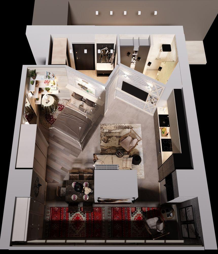 Однокомнатная квартира 36кв.м. с лоджией 9кв.м, захотела объединится с лоджией, залом и кухней.