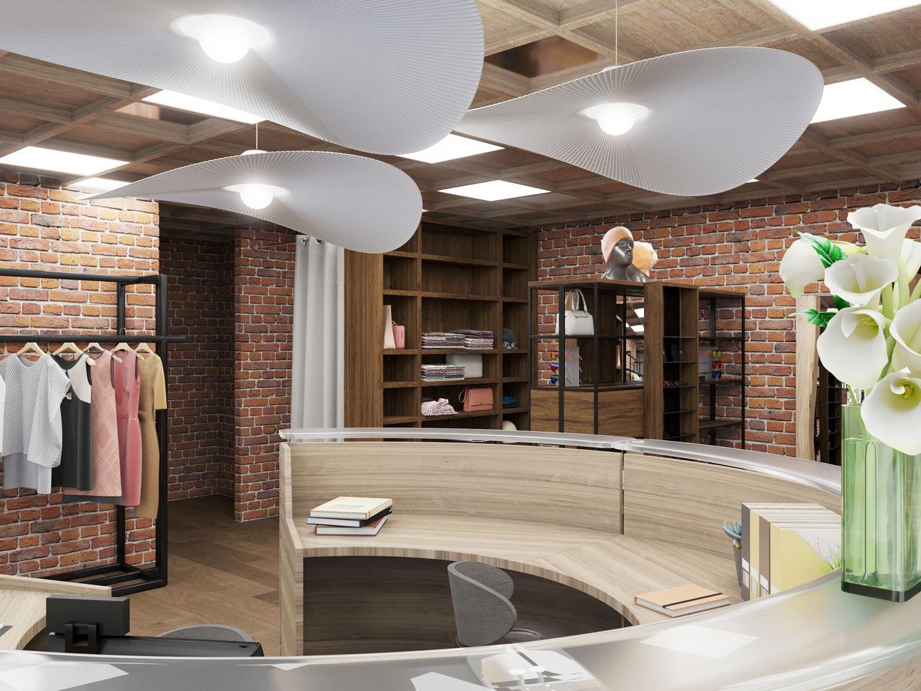 Торговый павильон в стиле Loft