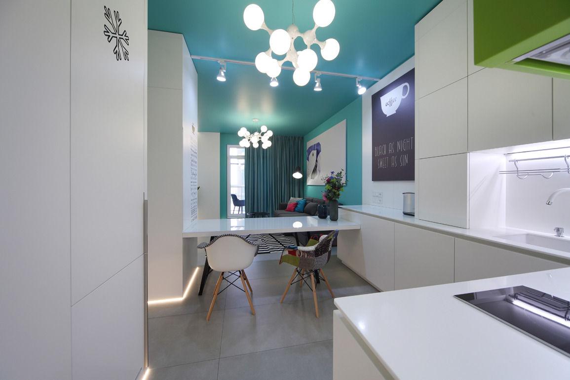 Двухкомнатная квартира в Перьях