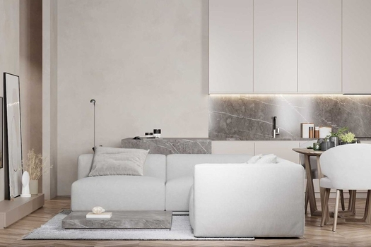 Дизайн интерьера 3-х квартиры ЖК Удачный