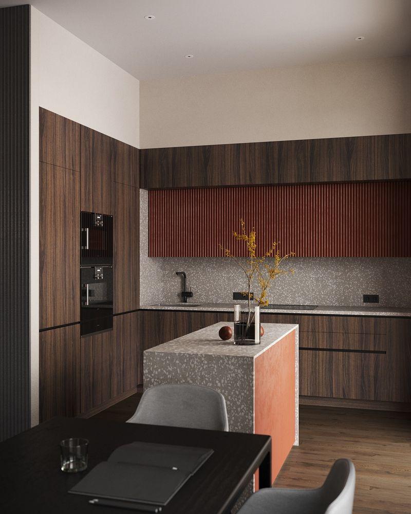 Дизайн интерьера 3-х квартиры г.Красноярск