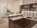 Интерьер 2-комнатной квартиры в ЖК 'Орбита' 60,8 кв.м.