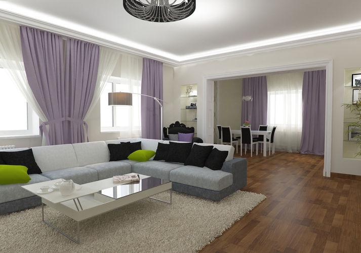 Дизайн кухня гостиная в частном доме фото