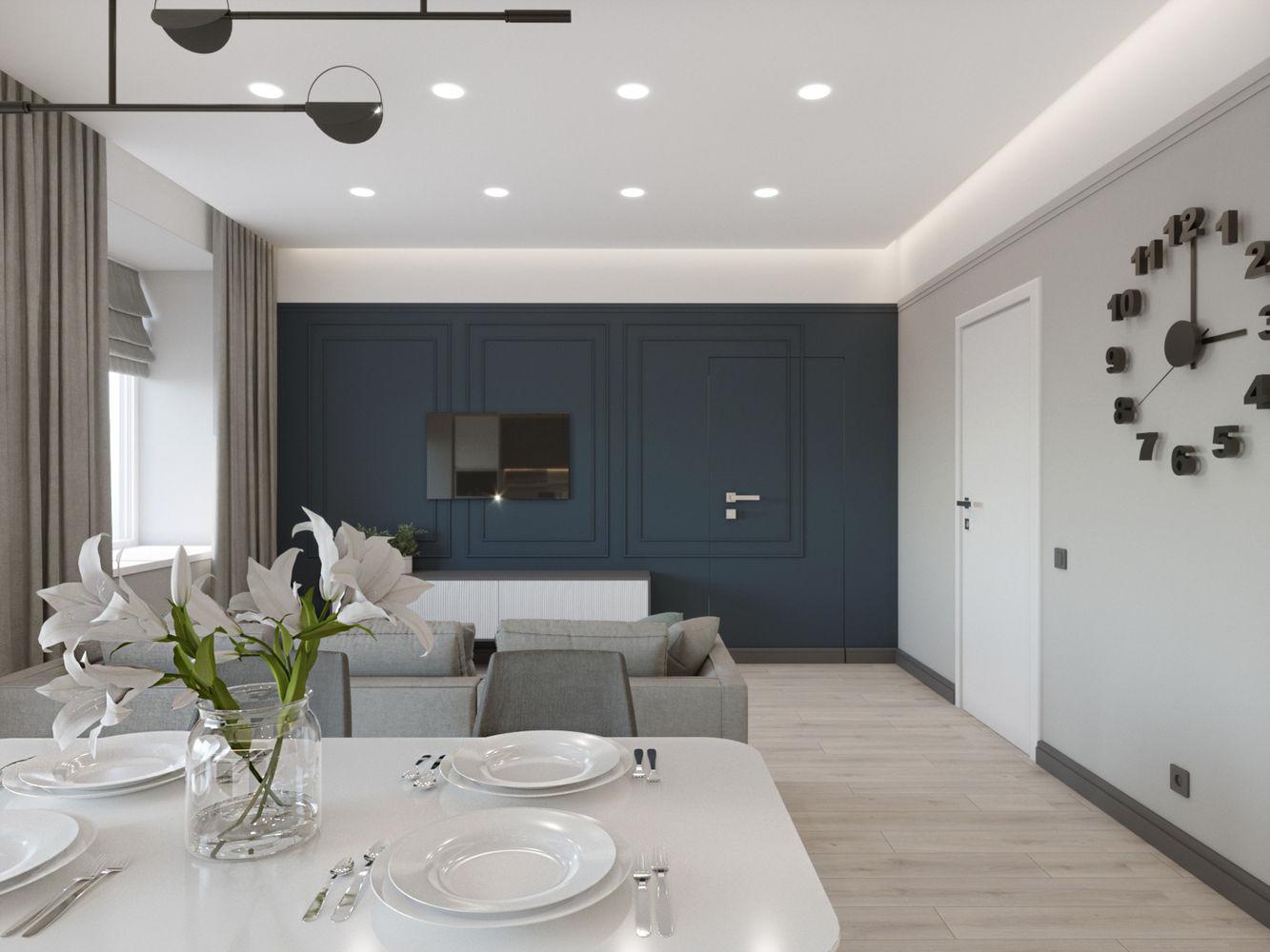 Двухкомнатная квартира в ЖК Scandis для семейной пары