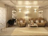 Романтичное решение для квартиры 80 м2