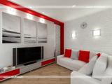 Интерьер 1-й комнатной квартиры (33 м.кв.)