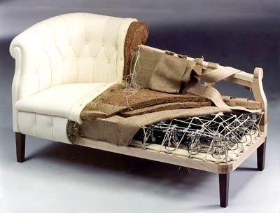 Новая жизнь старой мягкой мебели