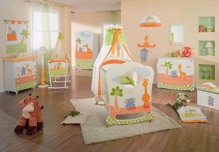 Комнаты для малышей, расставляем мебель