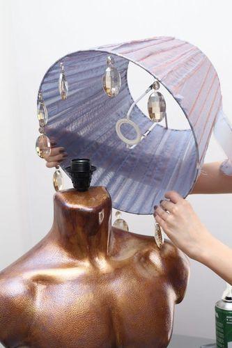 Брутальные формы самодельного светильника