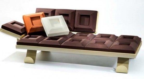 шоколадный диванчик