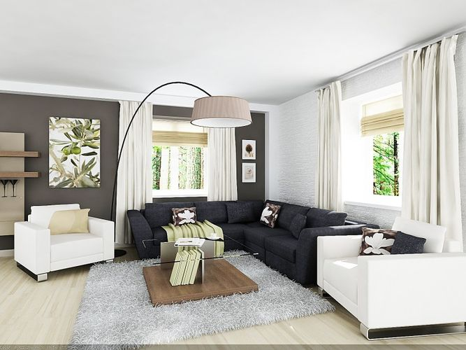 Профессиональное создание стильного дизайна интерьера квартиры