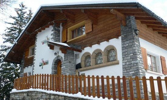 Частные загородные дома в стиле шале