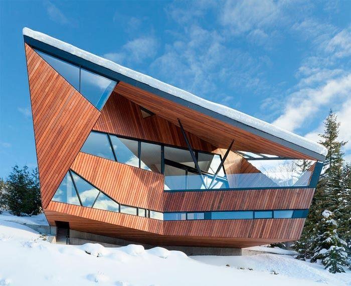 Ассиметричный дом