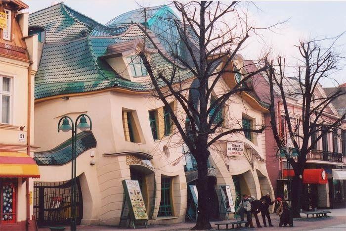 Самый необычный дом в Сопоте