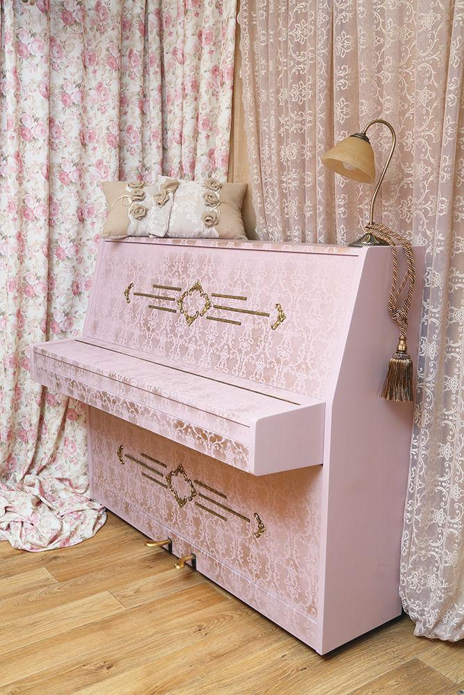 Меняем дизайн пианино своими руками
