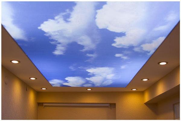 Транспарентные потолки