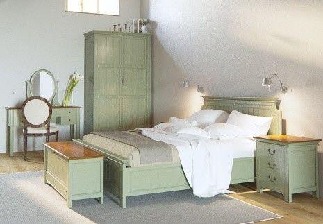 Как использовать модный фисташковый цвет в оформлении спальни