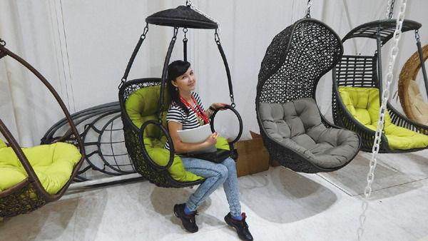Татьяна Григорьева на выставке