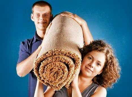 Химчистка ковров с вывозом это удобно