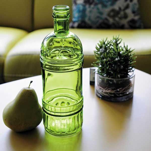 зеленая бутылка