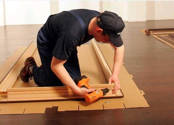Как собрать и установить дверную коробку для межкомнатной двери