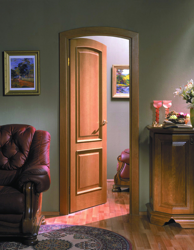 Шпонированные двери: красота, фактурность, доступность