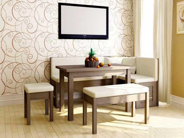Кухонные уголки: комфорт и удобство